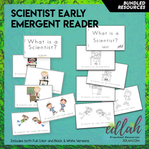 Types of Scientist Early Emergent Reader - BUNDLE