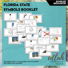 Florida State Symbol Booklet BUNDLE