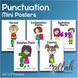 Punctuation Primary Mini Posters