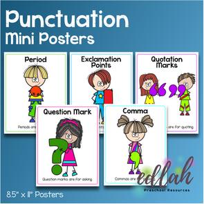 Punctuation Primary Mini Posters