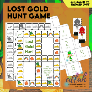Lost Gold Hunt Game (St. Patrick's Day)