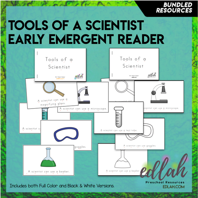 Science Tools Early Emergent Reader - BUNDLE