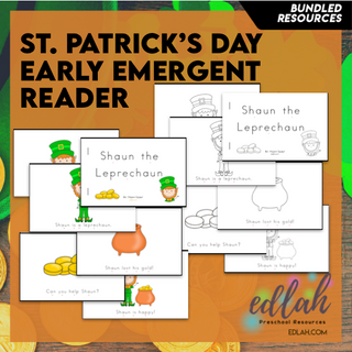 St. Patrick's Day Early Emergent Reader - BUNDLE