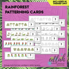 Rainforest Patterning Cards - BUNDLE
