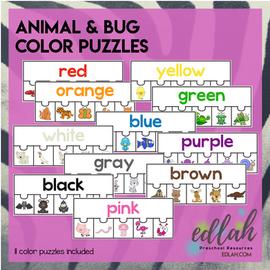 Animal & Bug Color Matching