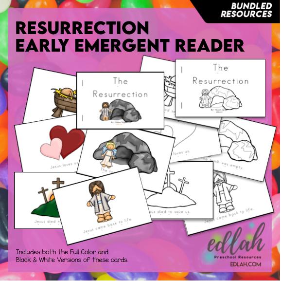 Easter/Resurrection Early Emergent Reader - BUNDLE