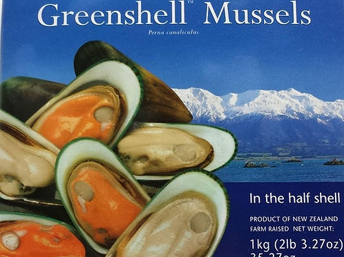 Green Mussel H/S