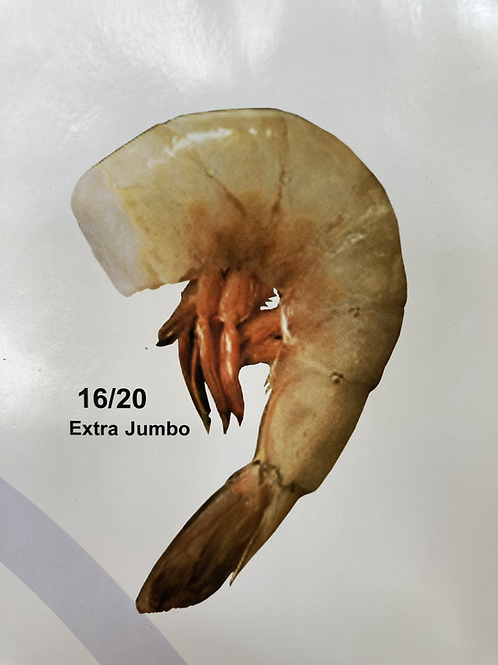 Farm 16/20 PD Shrimp Cleaned - Extra-Jumbo