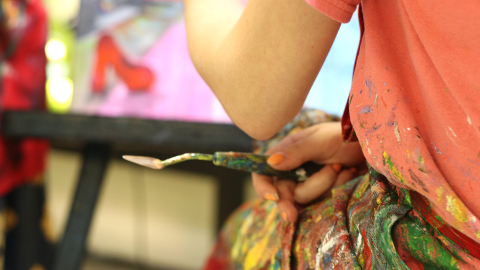 Benefits of Art Making for Teens