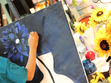 Positive & Negative Space in Art!