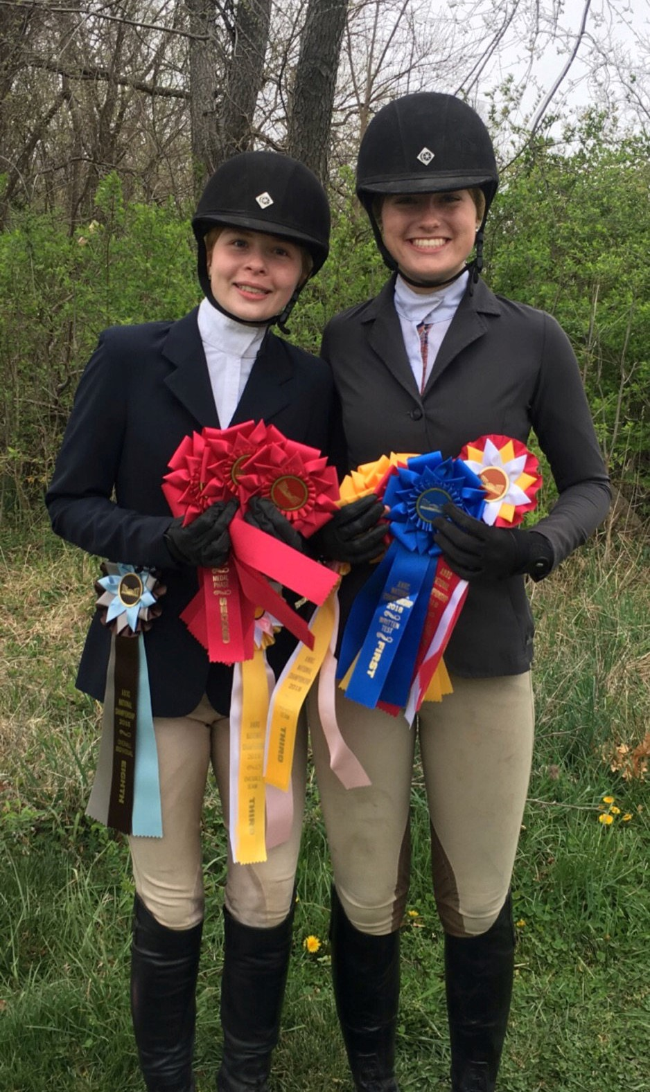 Whitestone Farm Ribbons and Rider