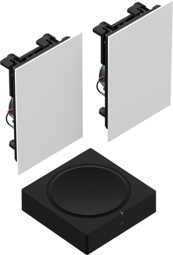 Amp and In Wall Pair