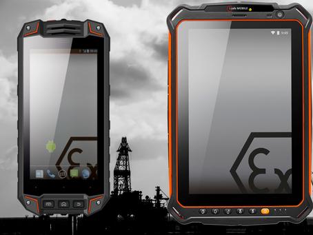 ATEX sone 1 & 2 Smartphones og Tablets