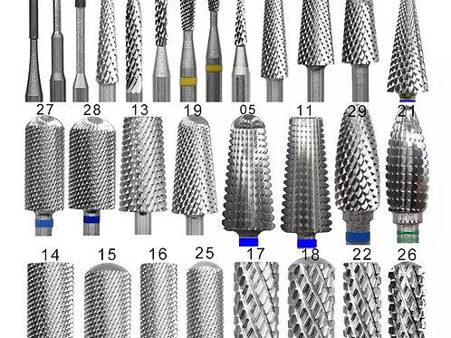Manicure Drill Bits (Carbide)
