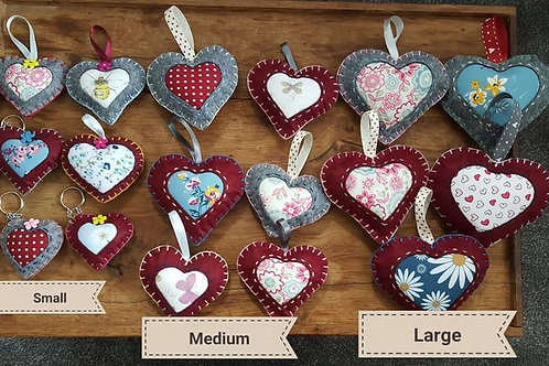 Handmade Hearts, Valentines Heart , Mother's day, Back to school, Lockdown gift