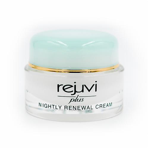 Rejuvi Plus, nightly renewal Cream, For normal & Dry skin 29g