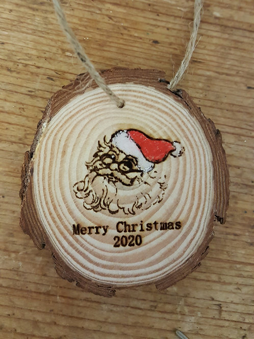 Christmas tree or Stocking decoration  - Santa