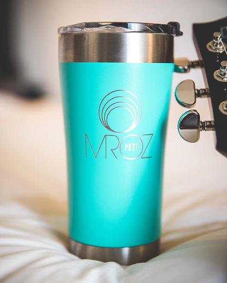 MROZ Circles 20oz Insulated Coffee Mug by Tempercraft