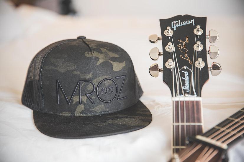 MROZ Camo Flat Bill Hat
