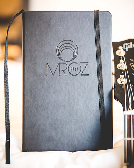 MROZ Circle Leather Journal