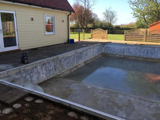 Pool refurb.