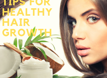 Natural tips for healthy hair growth
