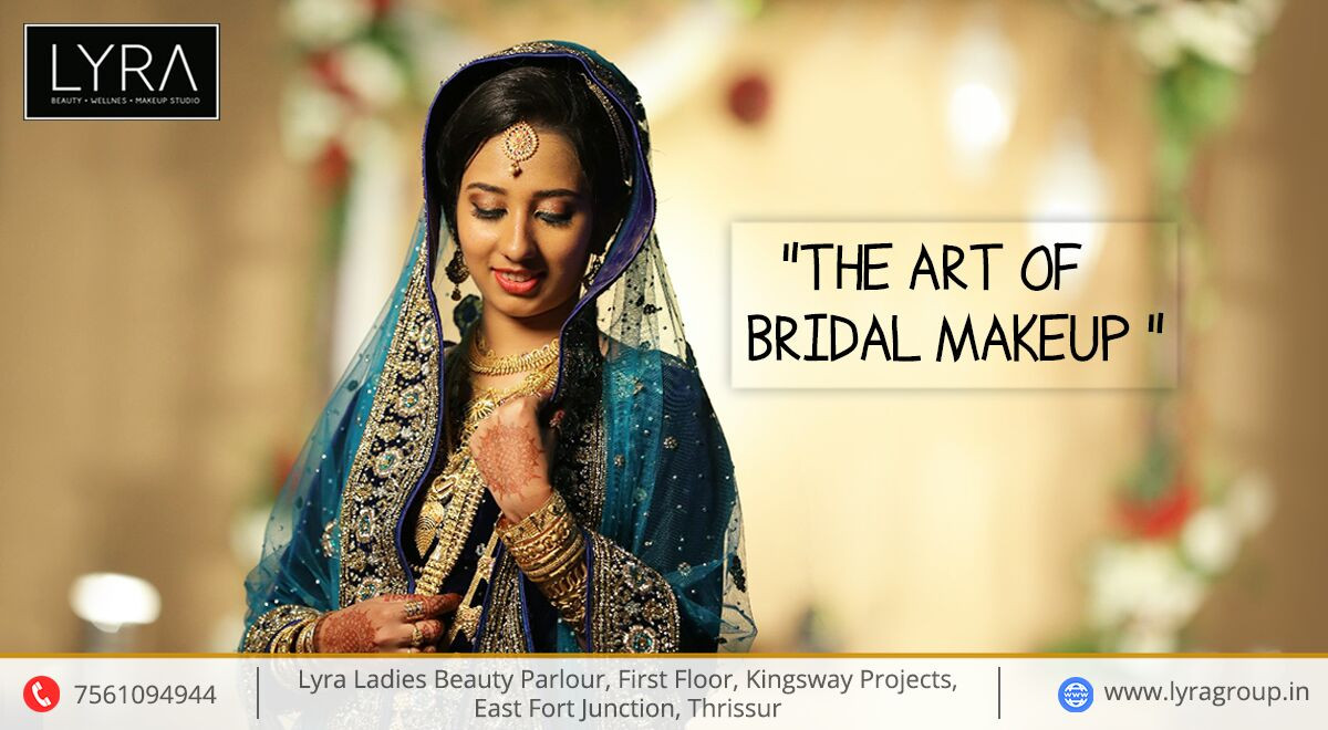 Kerala Bridal Makeup | Lyra Beauty Parlour | Kerala Bridal Hairstyle