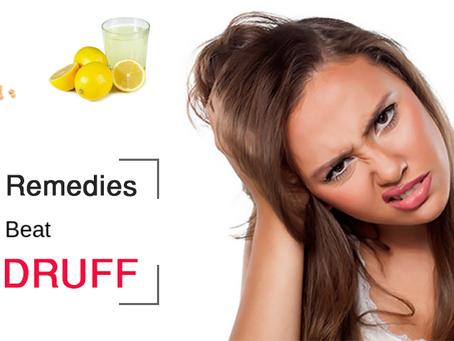Home Remedies To Beat Dandruff