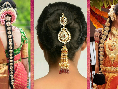 Different Kerala Bridal Hairstyle