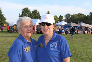 Betty and Connie, Sellersburg Celebrates volunteer