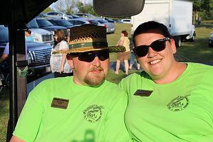 Richie and Kelly Cannon, Sellersburg Celebrates volunteer