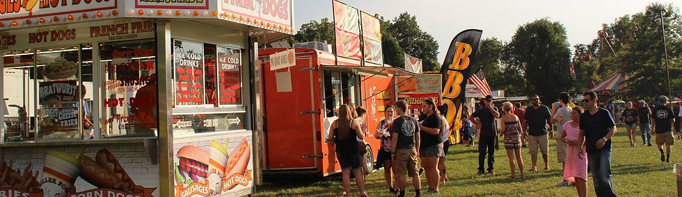Sellersburg Celebrates food booths