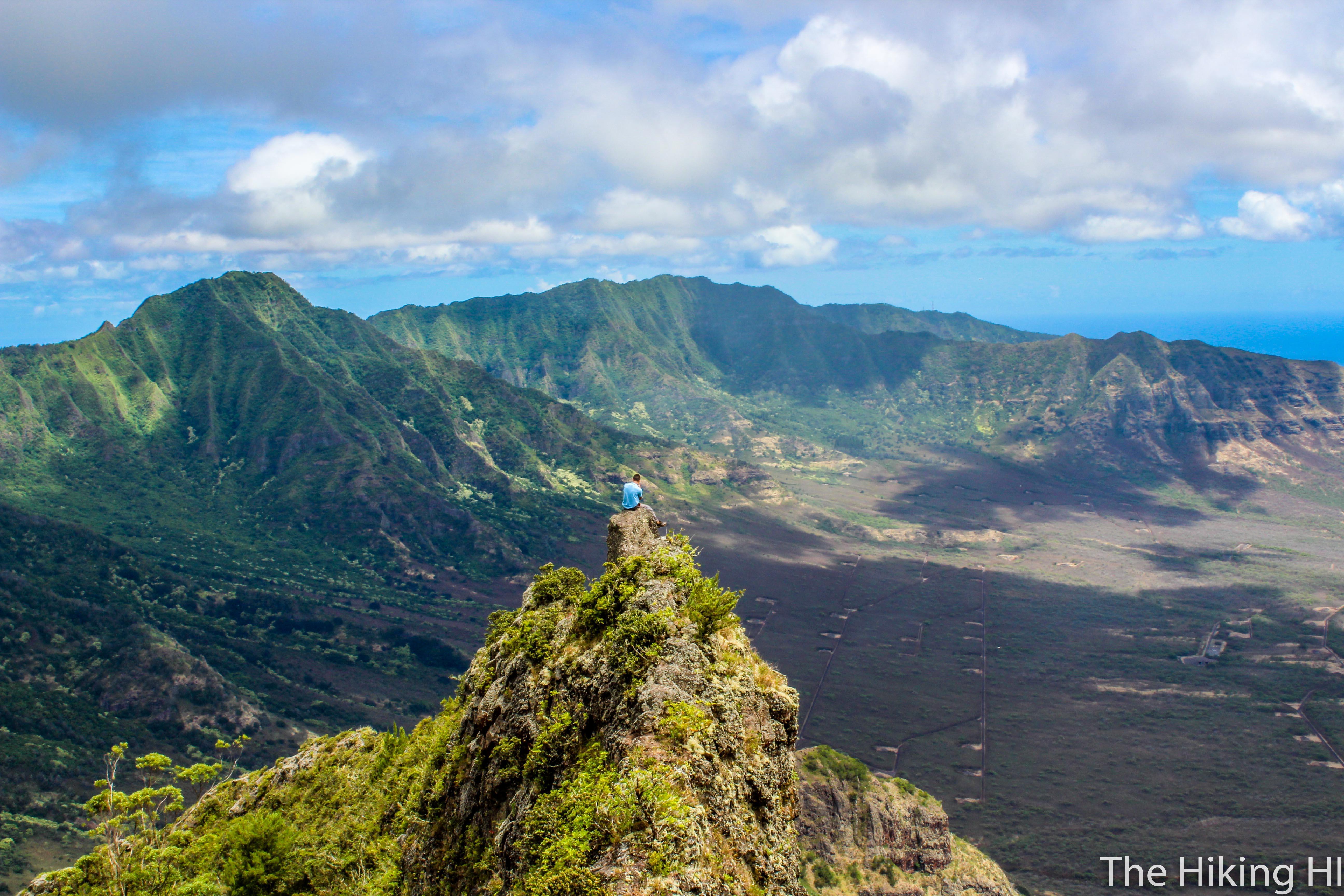 Sexy Ridge of Pu'u Kalena