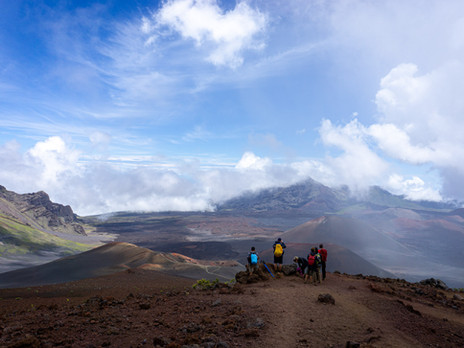 HALEAKALA CRATER BACKPACKING--MAUI