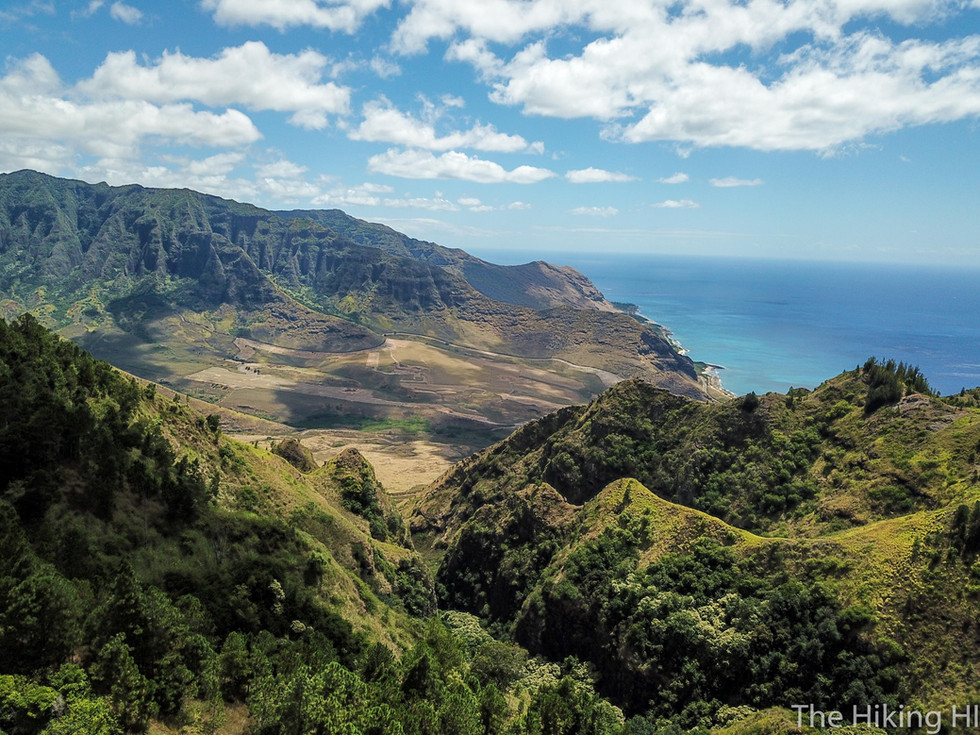 Kealia Trail and Access Road to Makua Valley