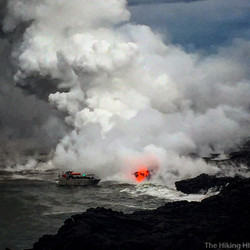Ocean Lava Flow