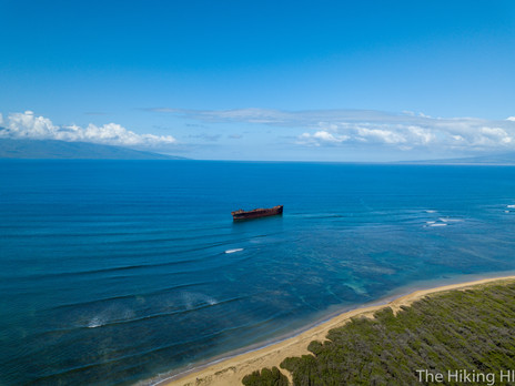 SHIPWRECK BEACH--LANA'I