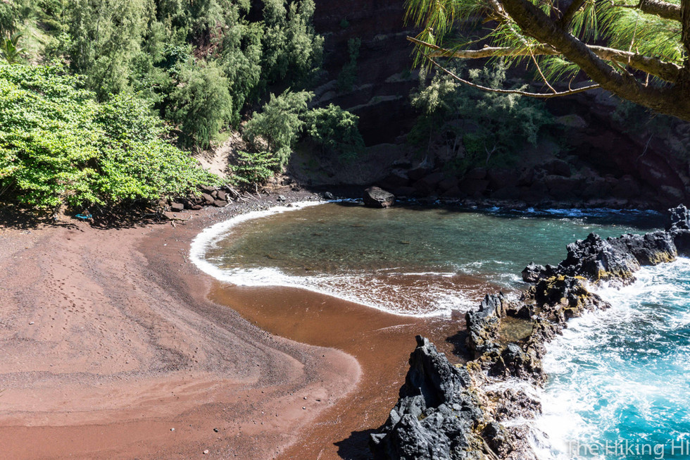 RED SAND (KAIHALULU) BEACH--MAUI