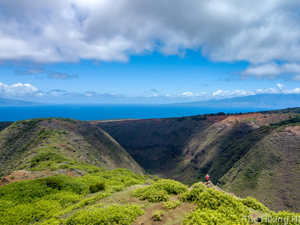 KOLOIKI RIDGE TRAIL--LANA'I
