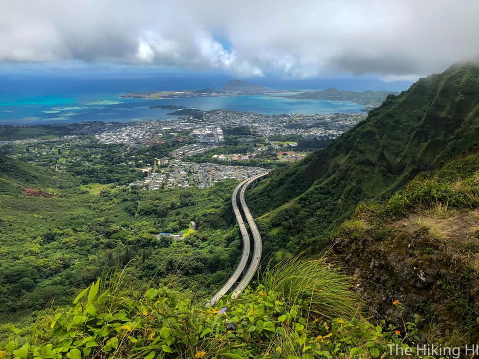 KULANA'AHANE TRAIL to H3 LOOKOUT