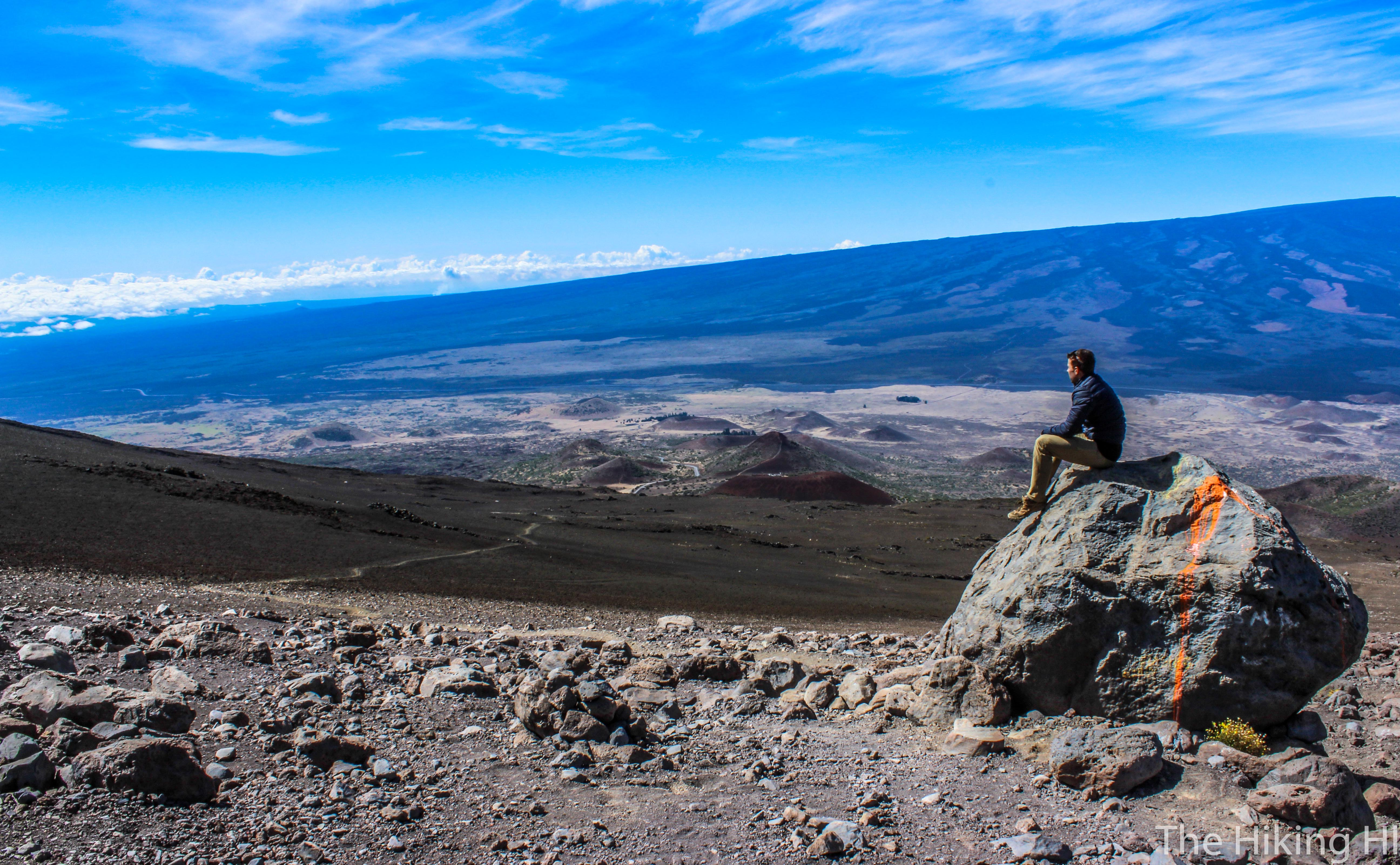 Hiking to the Top of Hawaii