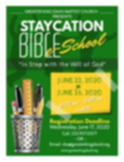 GKD - Staycation Bible School Registrati
