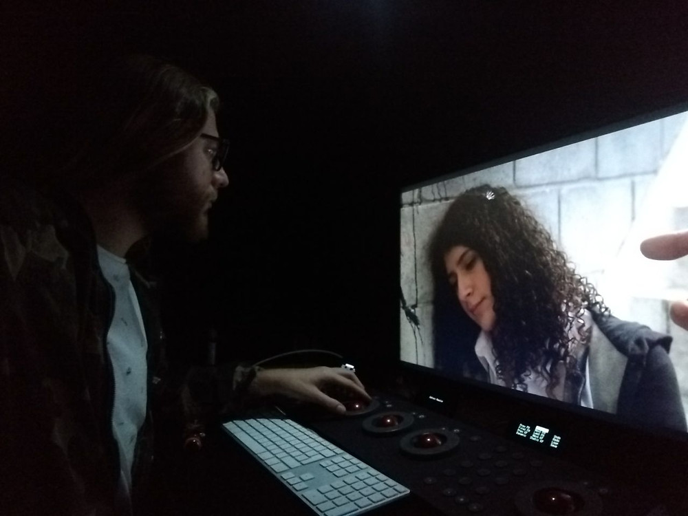 Mateo Gonzalez, colorista del cortometraje Alma