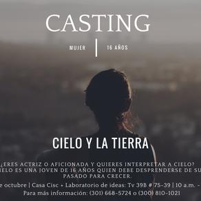 Se busca actriz para el cortometraje Cielo y la tierra