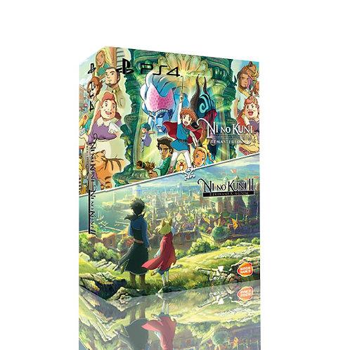 Ni no Kuni I & II Double Cover (PS4)