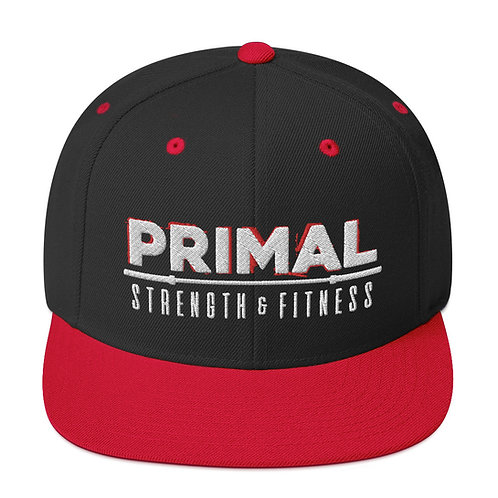 Primal Snapback Hat Rage Logo