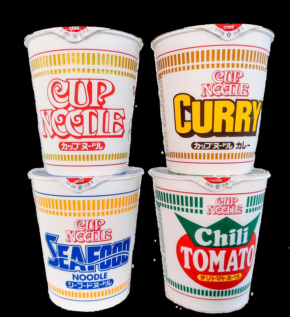 Instant Ramen - Cup Noodles