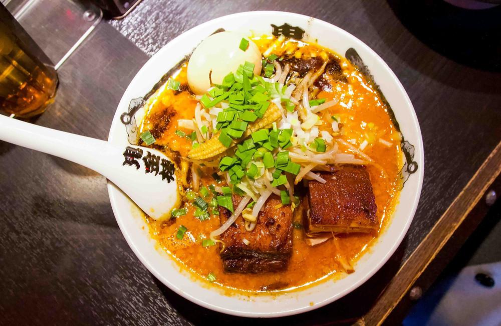 Tokyo Miso Ramen - Kikanbo Bowl