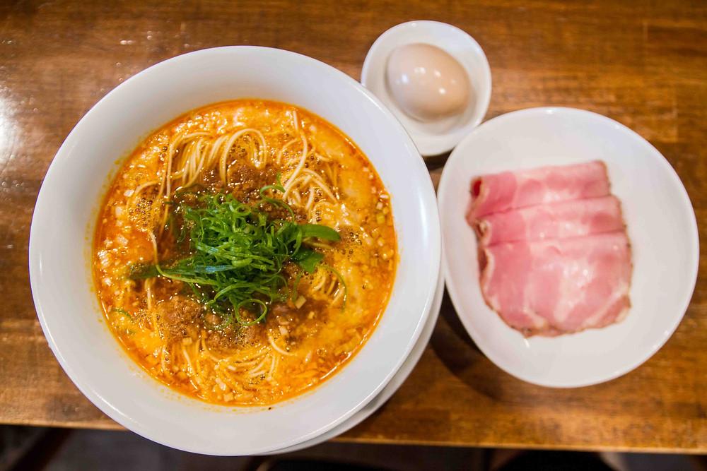 Michelin Star Tantanmen at Nakiryu