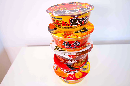 Spicy Ramen Pack (5 Total / 5 Types)